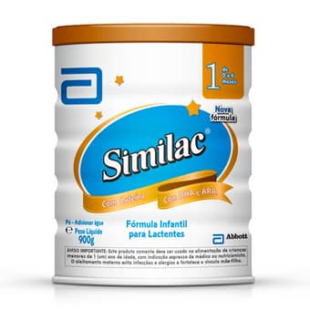 Fórmula Infantil para Lactentes Similac 1 900g