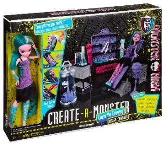 bonecas para o bebê ou criança - Monster High - Estúdio Crie Seu Monstro