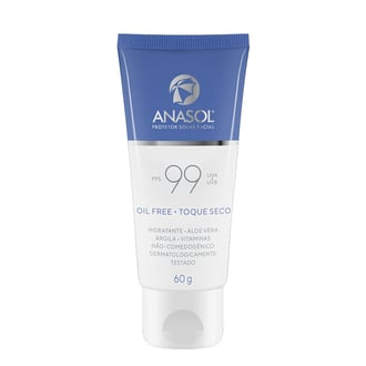 Protetor Solar Facial FPS 99 Anasol 60g