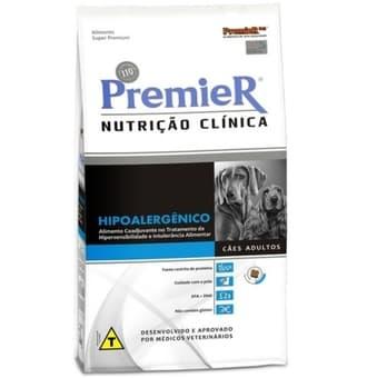 Ração Premier Nutrição Clínica para Cães Hipoalergênico rações para cachorro
