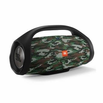 JBL Boombox 60W RMS Portatil Bluetooth Camuflado Squad - a melhor caixa de som bluetooth