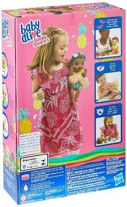 bonecas para o bebê ou criança - Boneca Baby Alive Lanchinhos Divertidos