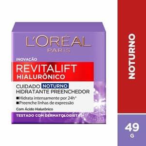 Creme facial noturnoRevitalift Hialurônico da L'Oréal Paris