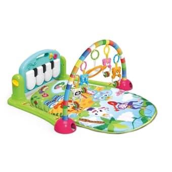 Tapete Estimulador De Bebê Musical Toca Piano Happy Verde - Color Baby