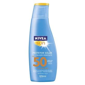 Protetor Solar Nivea Sun FPS 50 125ml