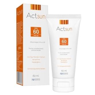 Actsun Protetor Solar FPS 60 Facial 60ml