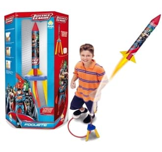Foguete Liga da Justiça Brinquedos Anjo