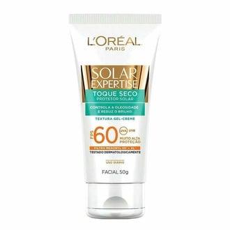 Protetor Solar Expertise com Toque Seco FPS 60 50g L'Oréal Paris