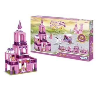 Blocos de montar Reino Castelo de Princesa Xalingo