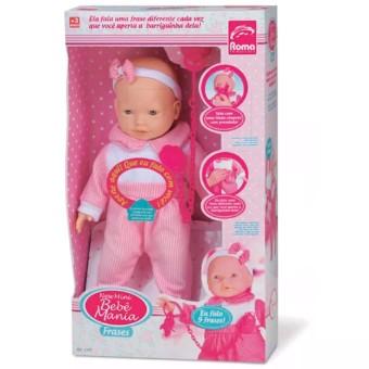 Boneca New Mini Bebê Mania Roma Jensen