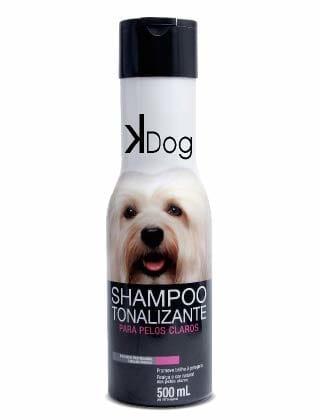 shampoo para cachorro Tonalizante para Cães