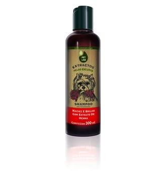 Petlab Extractos Shampoo Cães Com Pelos Escuros Henna