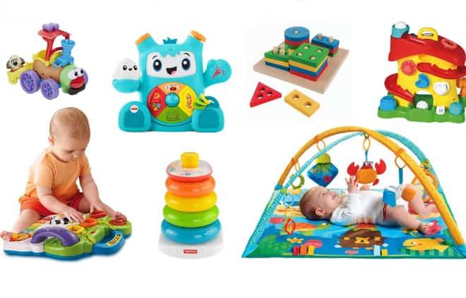 brinquedos para bebê e crianças