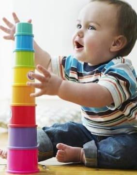 melhor brinquedo para bebê de até 3 anos