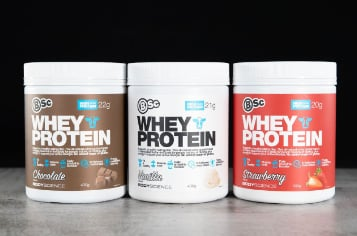 diferenças dos whey proteins