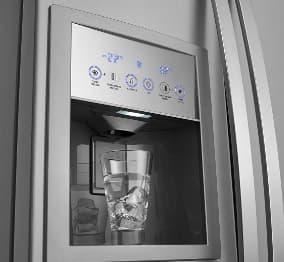geladeira Electrolux dispenser