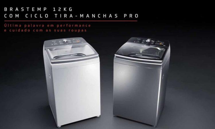 duas Máquinas de Lavar Brastemp 12 kgs