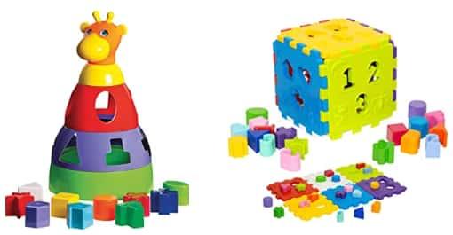 Classificação dos brinquedos educativos