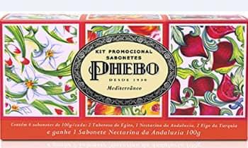 Kit Phebo Promocional Sabonetes