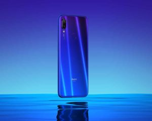 xiaomi celular azul