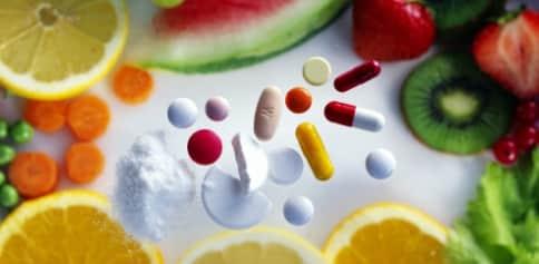 Tabela das principais vitaminas