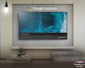 smart tv 50 polegadas sala de estar