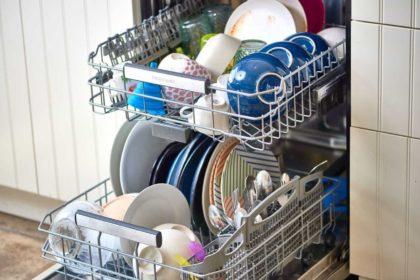 lava-louças com grande capacidade