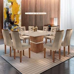 A melhor mesa de jantar para receber toda a família