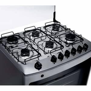 O fogão 6 bocas com forno mais potente