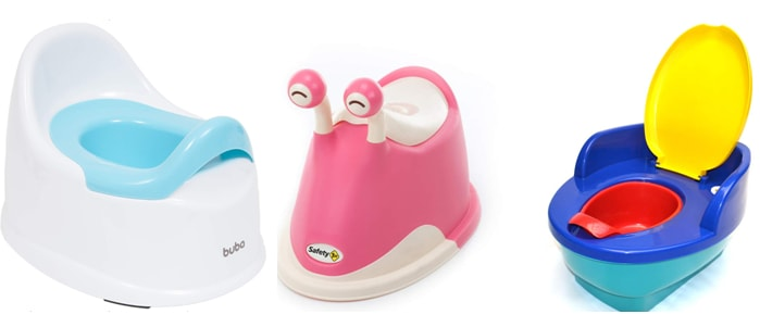 como escolher troninho infantil para bebê