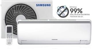 Ar Condicionado Split Samsung Digital Inverter 8Polos Só Frio 11500 BTUs