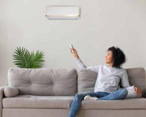 ligando melhor Ar-condicionado split em casa durante verão
