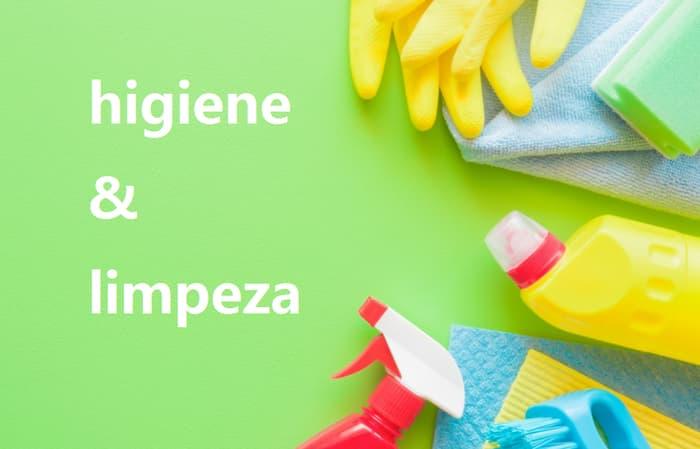 higiene e limpeza