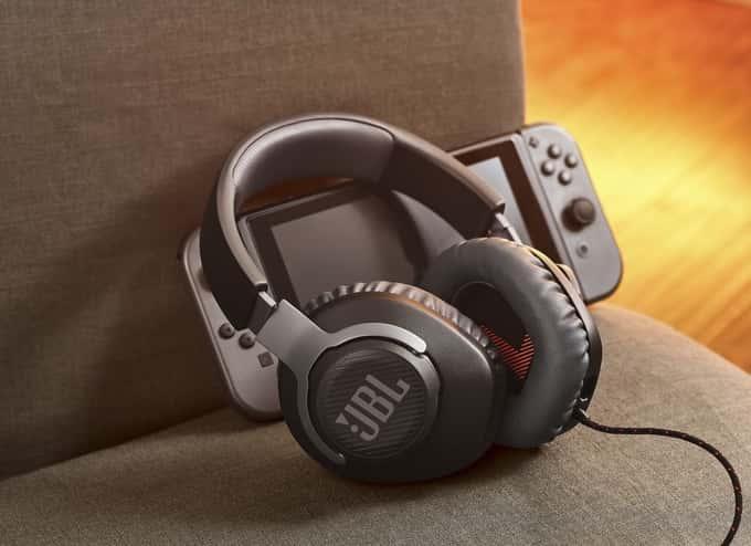 headset e um nintendo switch