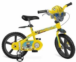 Bicicleta Transformers Bandeirante Aro 14