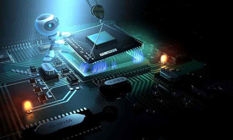 uma foto de processador