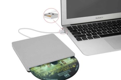 Gravador externo de CD/DVD