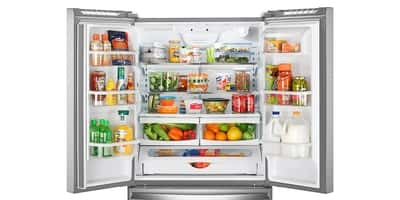 Capacidade da geladeira brastemp