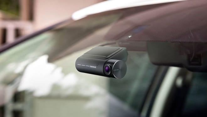 Câmera veicular em carro