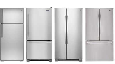 Tipo de abertura da geladeira