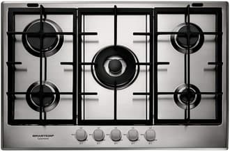 Cooktop Brastemp Gourmand Inox