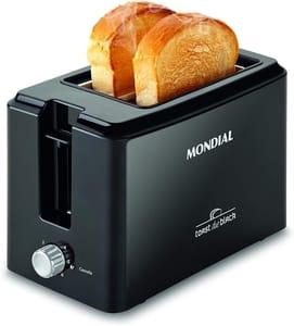 Mondial Toast Due Black T-05