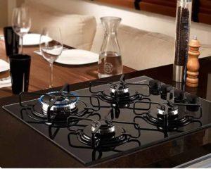 melhor cooktop 4 bocas em cozinha
