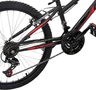 bicicleta: Alumínio ou aço