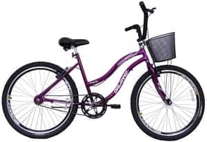 Bicicleta Feminina Aro 26 Beach, Delannio