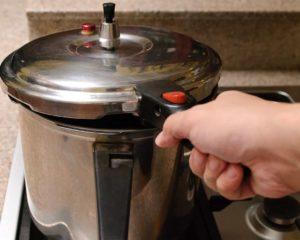 usar panela de pressão