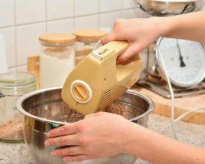 usar batedeira em cozinha