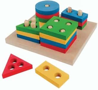 Prancha de seleção pequena Carlu brinquedos