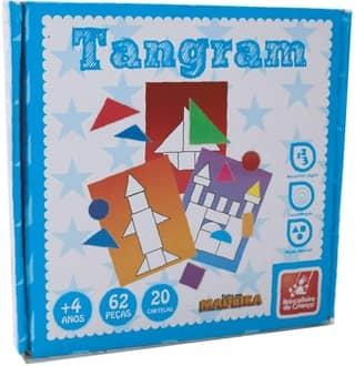 Tangram Brincadeira de Criança