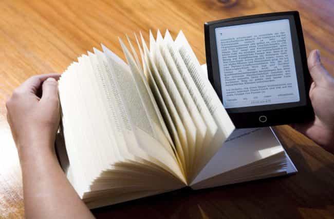 Livros físicos ou eBooks